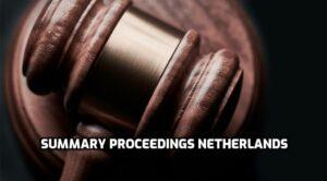 summary proceedings netherlands
